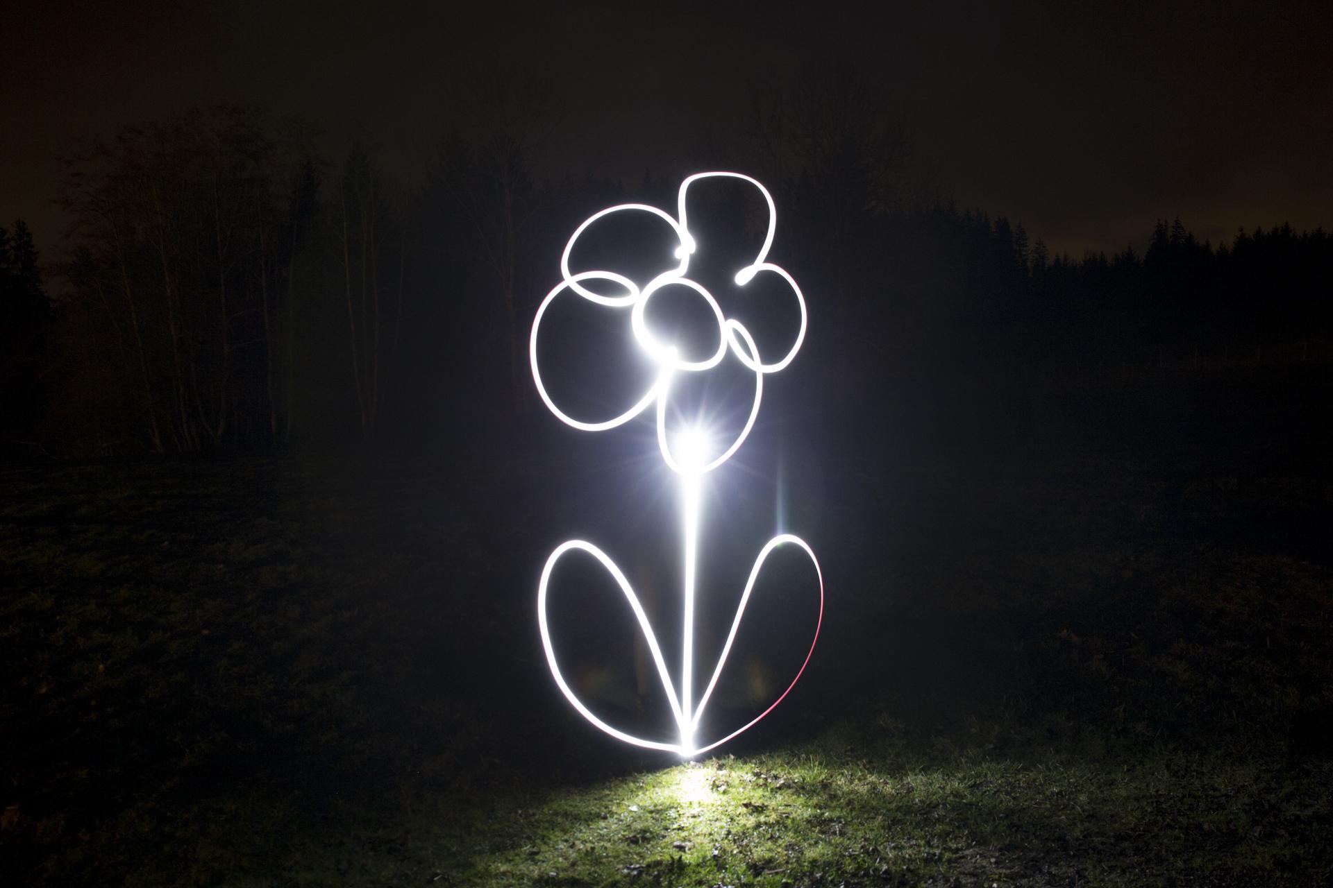 malen mit licht