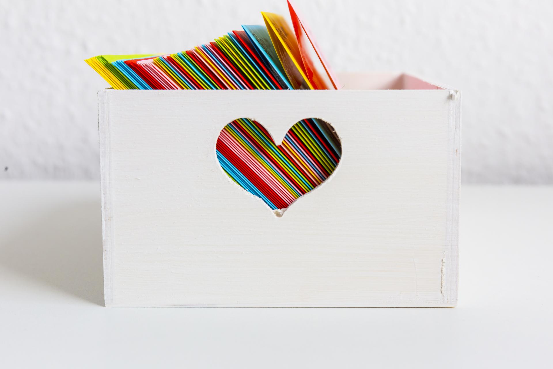 Offnen Wenn Briefe Das Perfekte Geschenk Zum Valentinstag