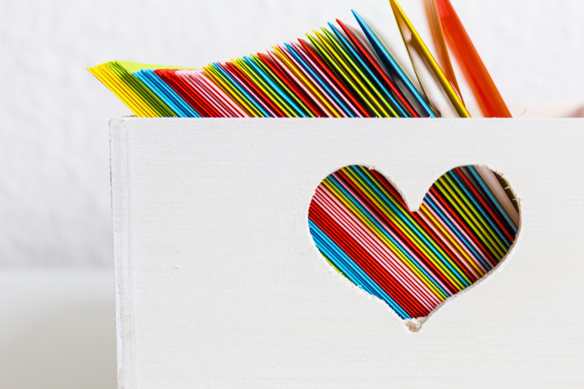öffnen Wenn Briefe Das Perfekte Geschenk Zum Valentinstag