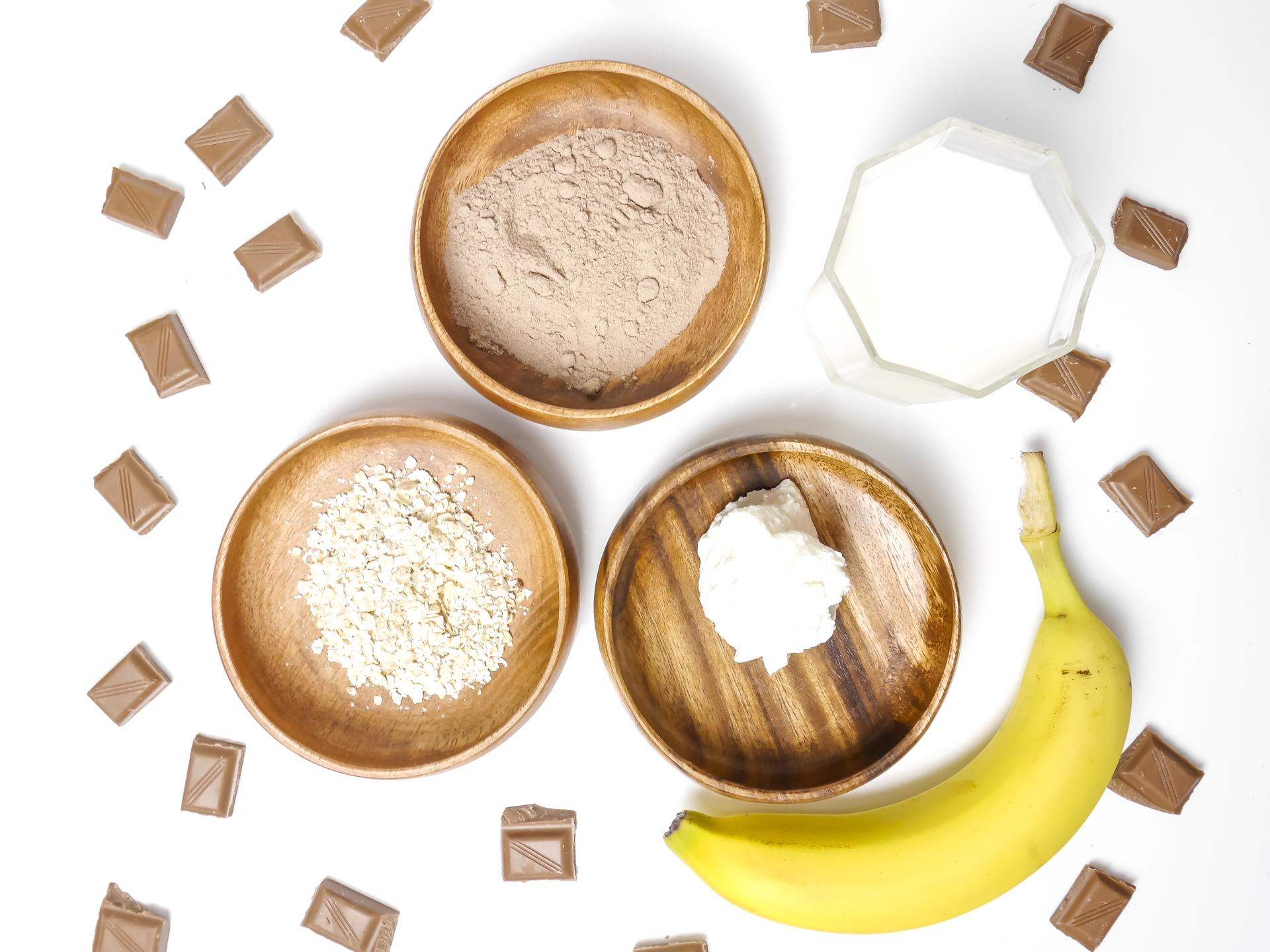 schoko protein shake zutaten