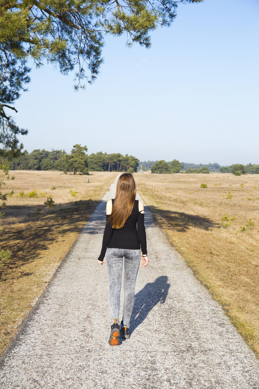 spazieren im nationalpark holland