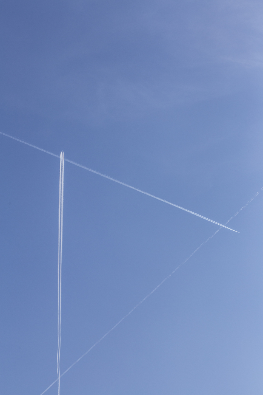 flugzeuge im himmel