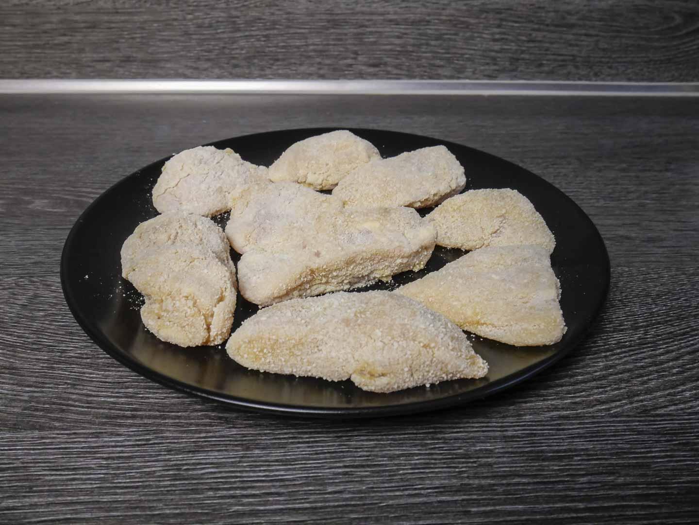 paniertes Hähnchenfleisch
