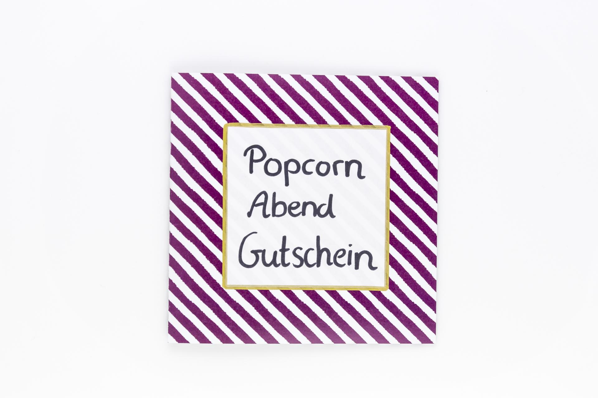 popcorn abend gutschein