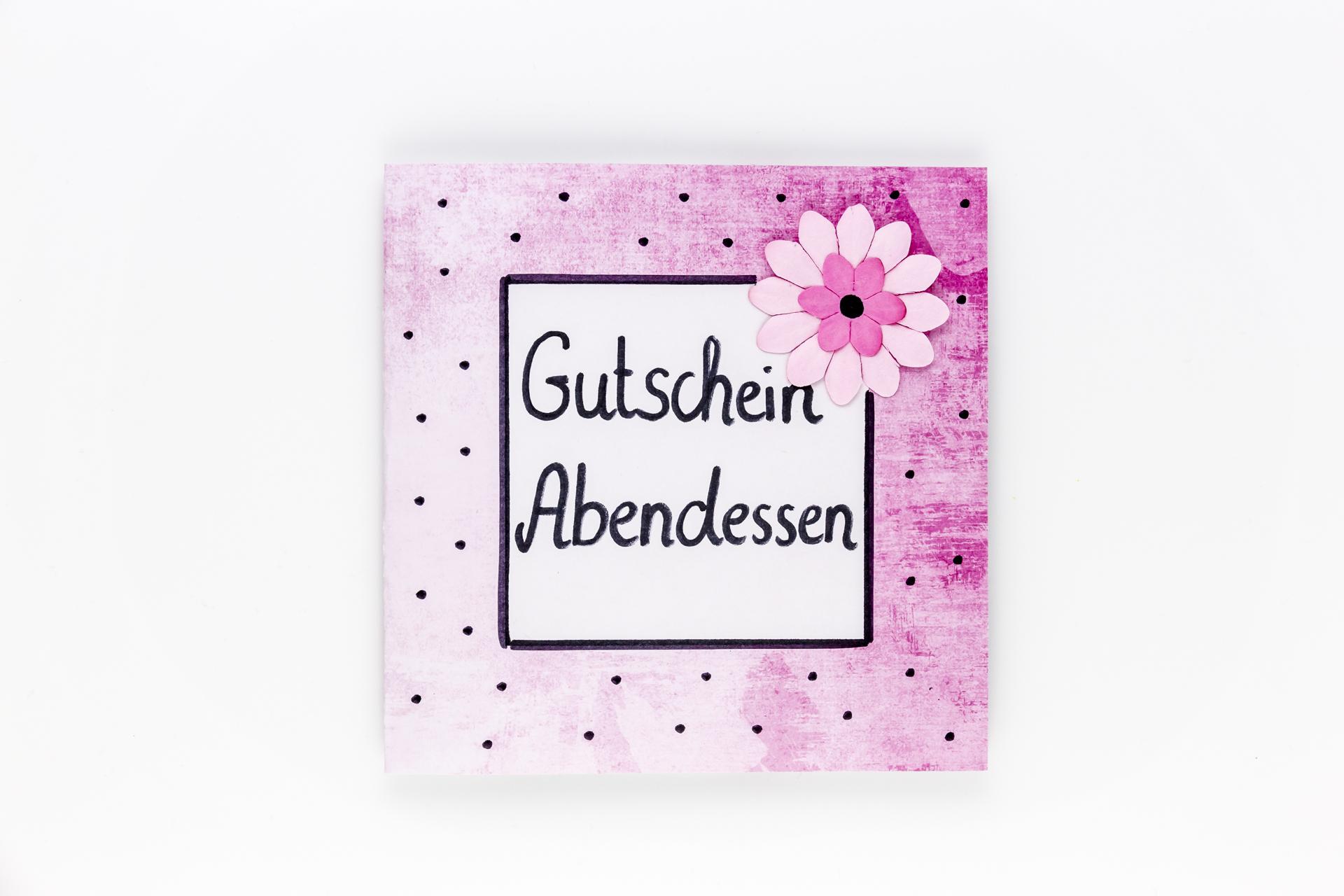 Fabelhaft Gutscheine für Mama- selbstgemachte Geschenke zum Muttertag NT18