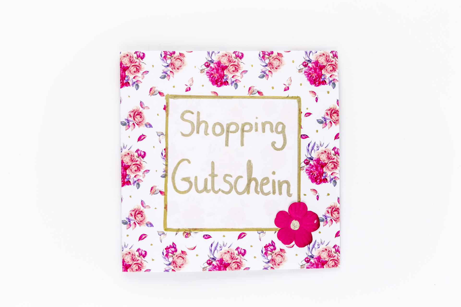 diy shopping gutschein