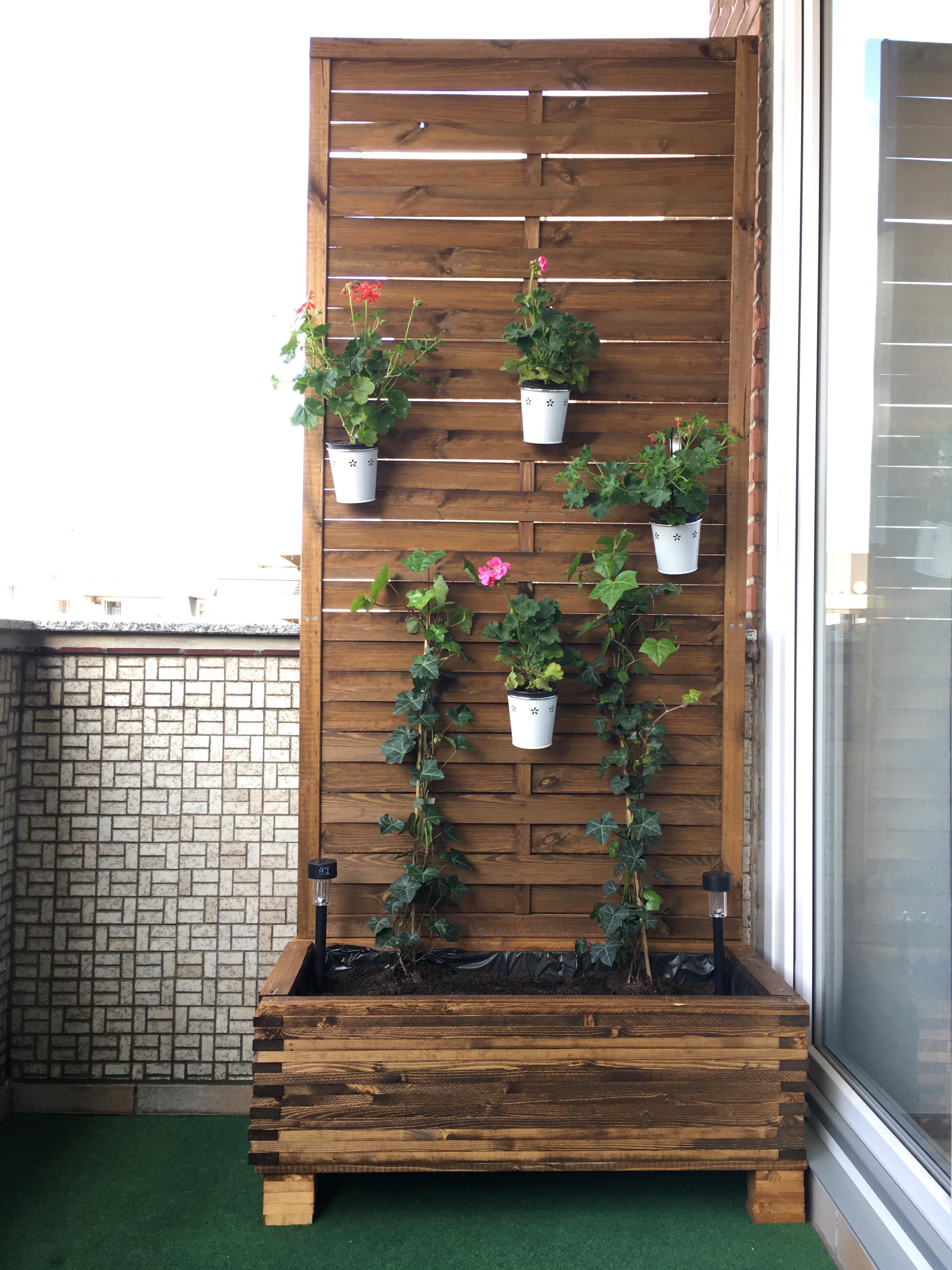 Sichtschutz für den Balkon selber machen