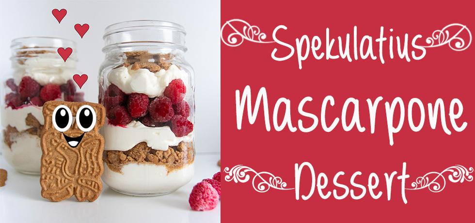 mascarpone spekulatius dessert