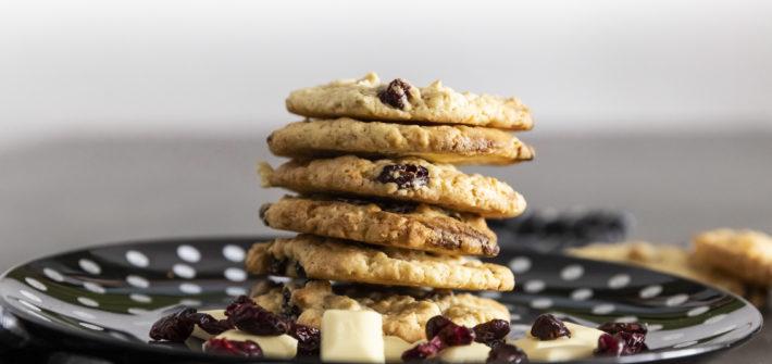 Das ist das Rezept für die leckersten Kekse der Welt ! Diese weiße Schokolade cranberry Cookies sind besser als die von Subway