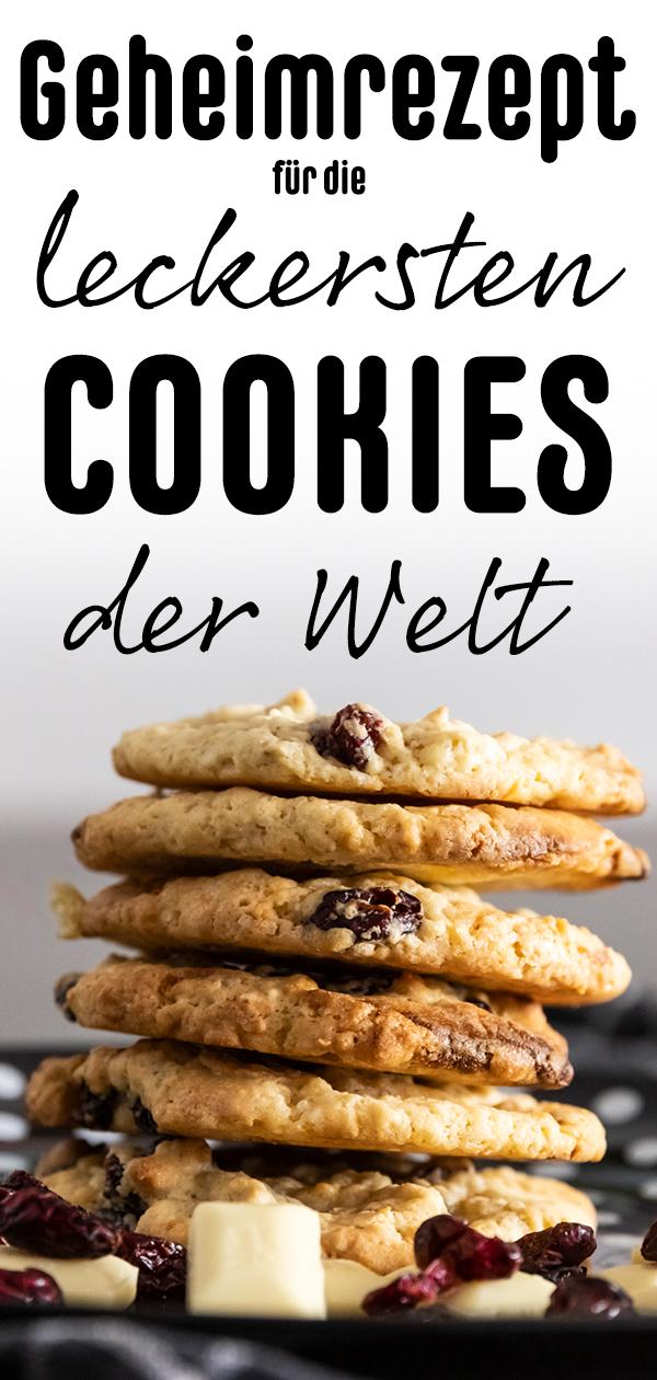 leckersten cookies der welt selber machen rezept